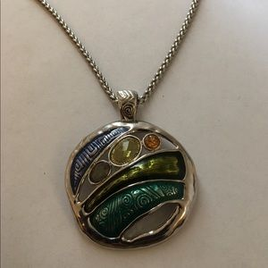 Very Good Condition !! Silver Necklace !!